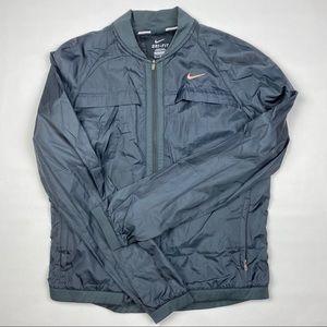 Nike running jacket grey medium